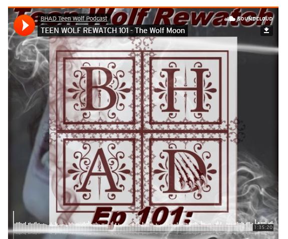 BHAD Teen Wolf Rewatch StickyKeys