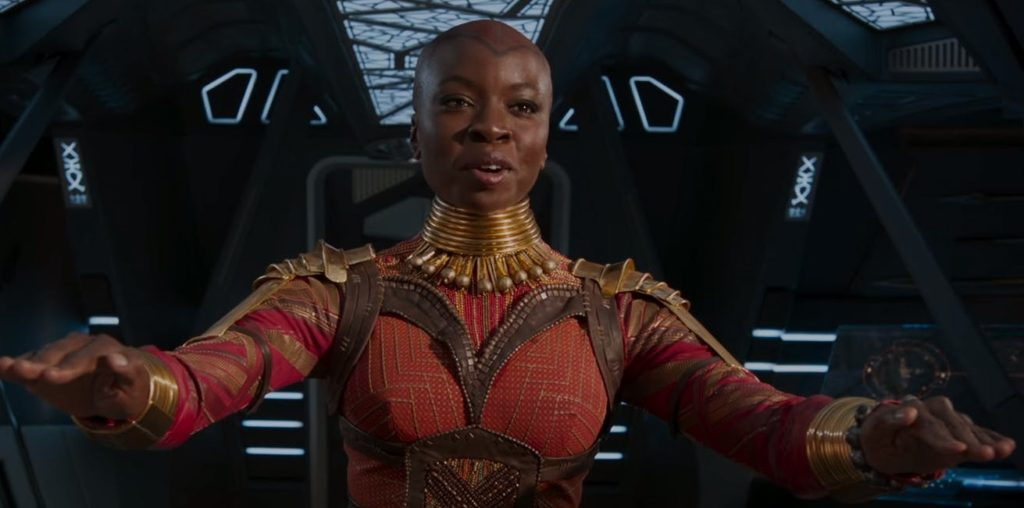 Black Panther Okoye Danai