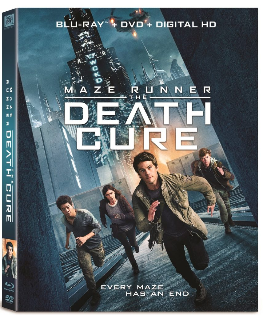 Maze Runner The Death Cure 4K Ultra HD Death Cure Blu-ray DVD Digital release Fox