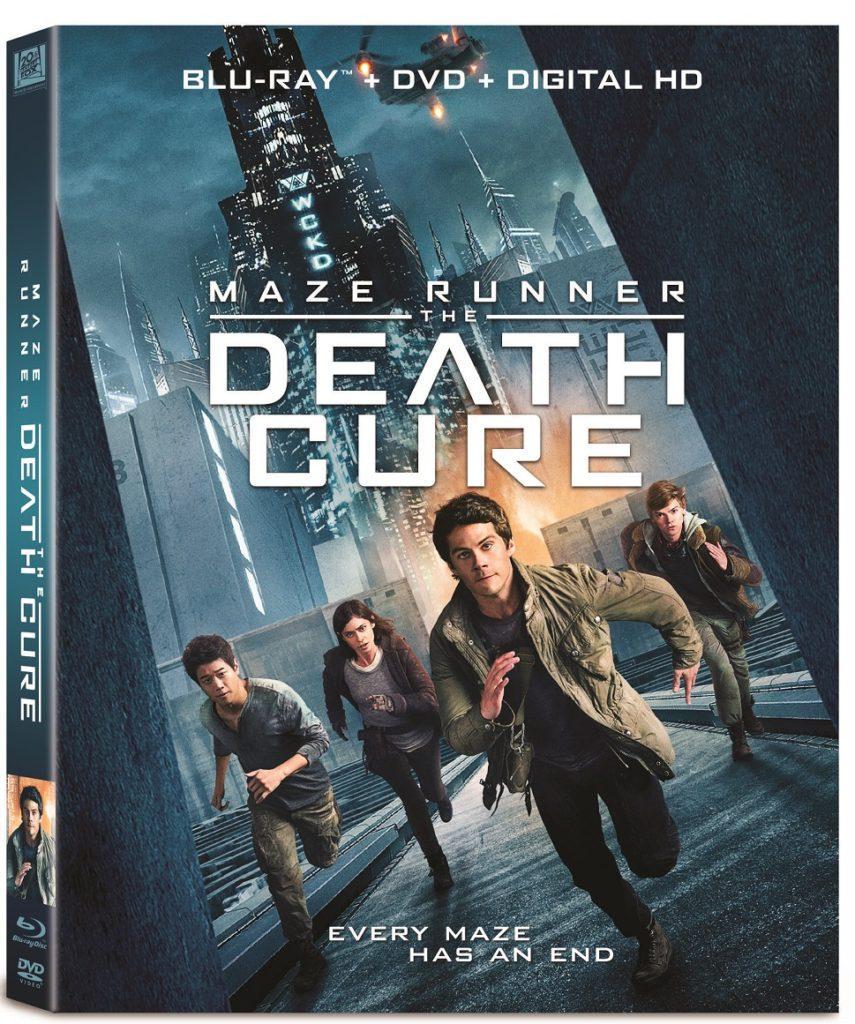 Maze Runner The Death Cure 4K Ultra HD Blu-ray DVD Digital release Fox