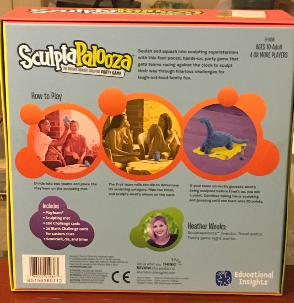 Sculptapalooza back review