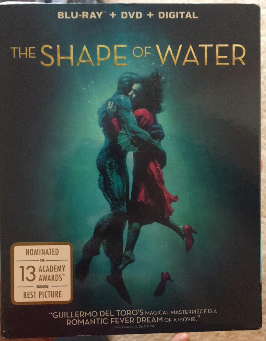 shape  water blu ray review   kind  love story