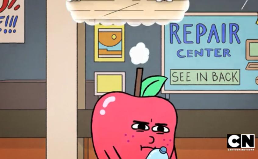 foodiverse apple imagination