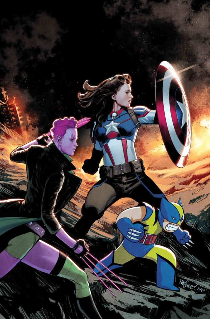 Captain America Peggy Carter Exiles #3