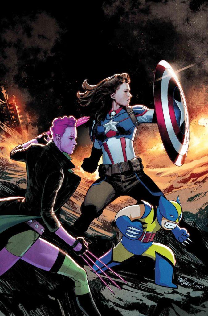 Captain America Peggy Carter Exiles #3