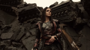 The 100 season 5 trailer Octavia