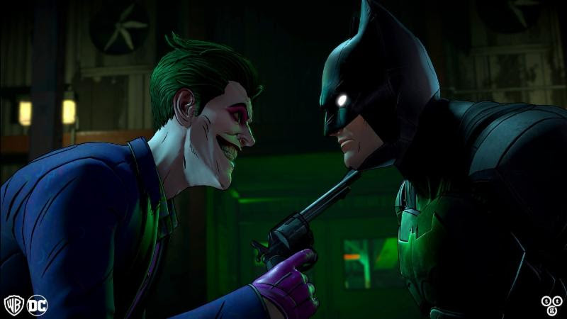Batman Telltale Games Same Stitch