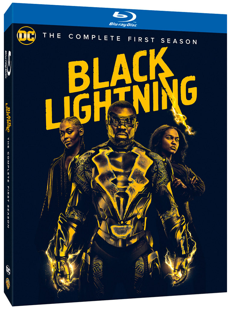 Black Lightning The Complete Season One Blu-ray DVD