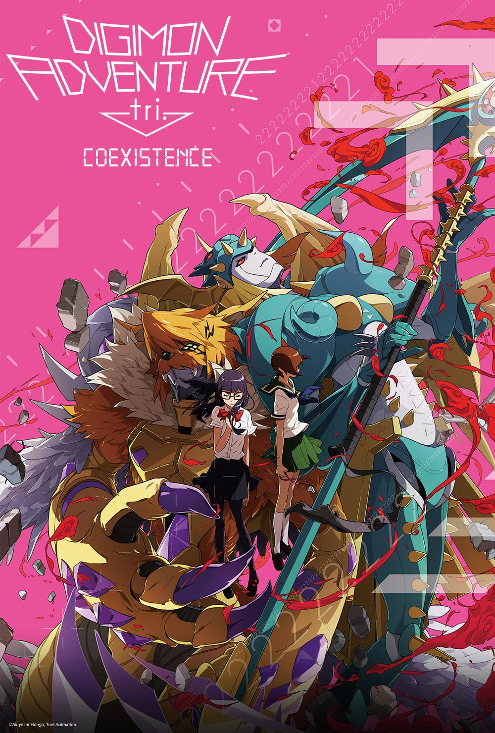 Digimon Adventure tri coexistence Fathom Events release