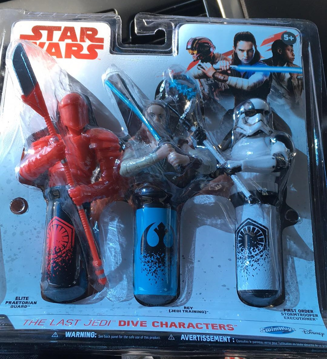SwimWays Star Wars Dive Toys Review