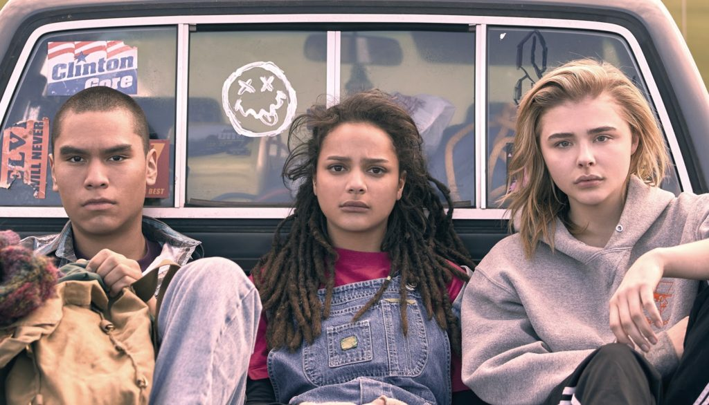 Forrest Goodheart Sasha Lane Chloe Grace Moretz - Miseducation of Cameron Post photo credit Jeong Park 2018 Tribeca Film Festival