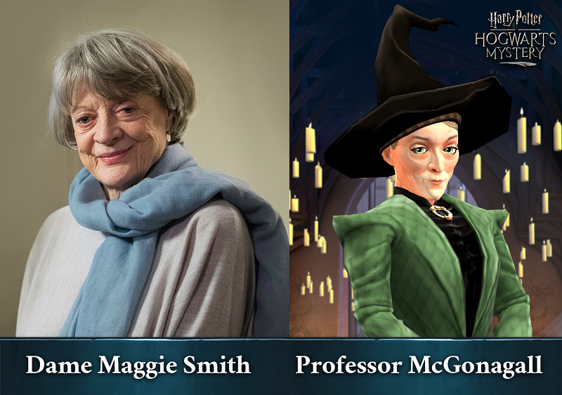 Dame Maggie Smith Harry Potter Hogwarts Mystery