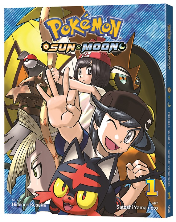 Pokemon Sun & Moon manga VIZ Media Volume 1 release date