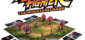 The Street Fighter Board Game Looks Awesome! Kickstarter Goal Met!