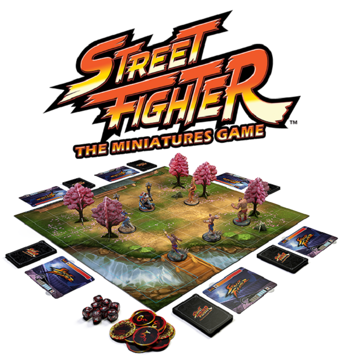 Street Fighter Board Game Looks Awesome Kickstarter Goal Met