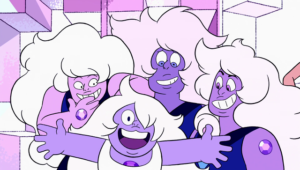 Amethyst with the Famethyst in That Will Be All.