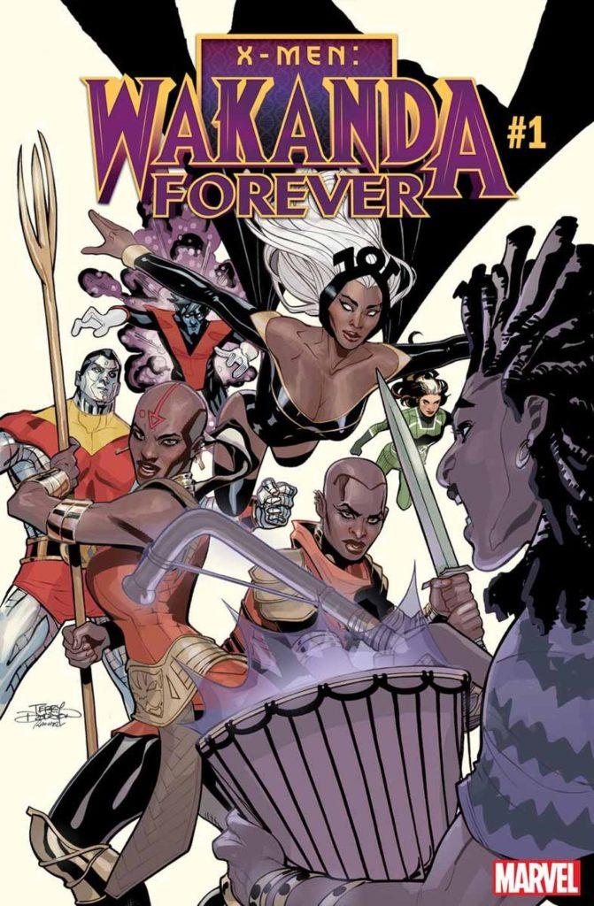 X-Men Wakanda Forever Comic Book Storm Dora Milaje Okoye