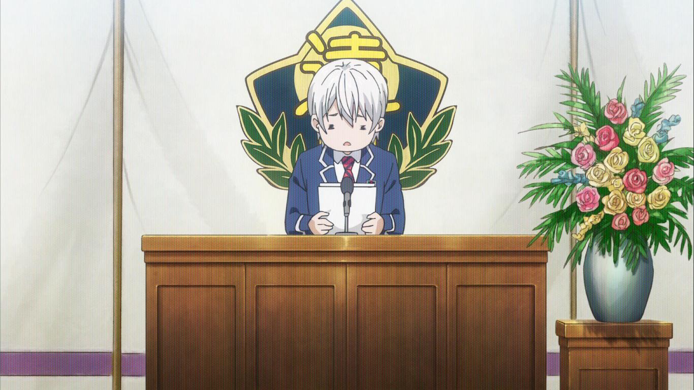 Shokugeki no Soma Advancement Exam Tsukasa