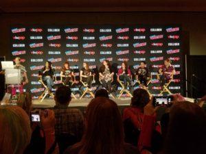 New york Comic Con Women of Marvel