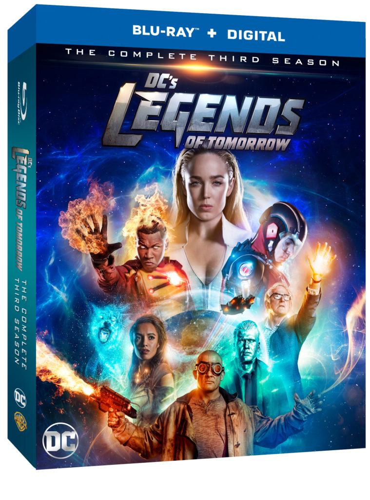 DC's Legends of Tomorrow Season 3 Blu-ray DVD release Legends of Tomorrow Season Three