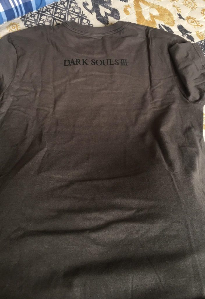 Dark Souls III Shirt back