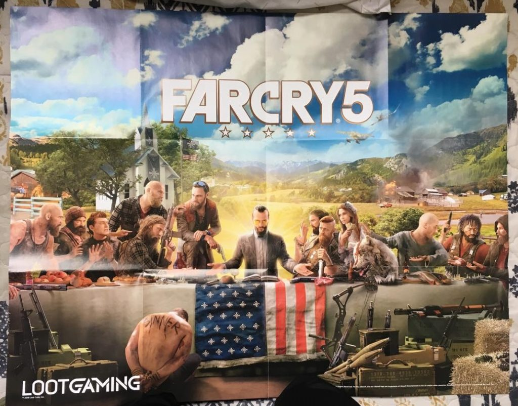 Far Cry 5 Poster Loot Gaming April The Hunt