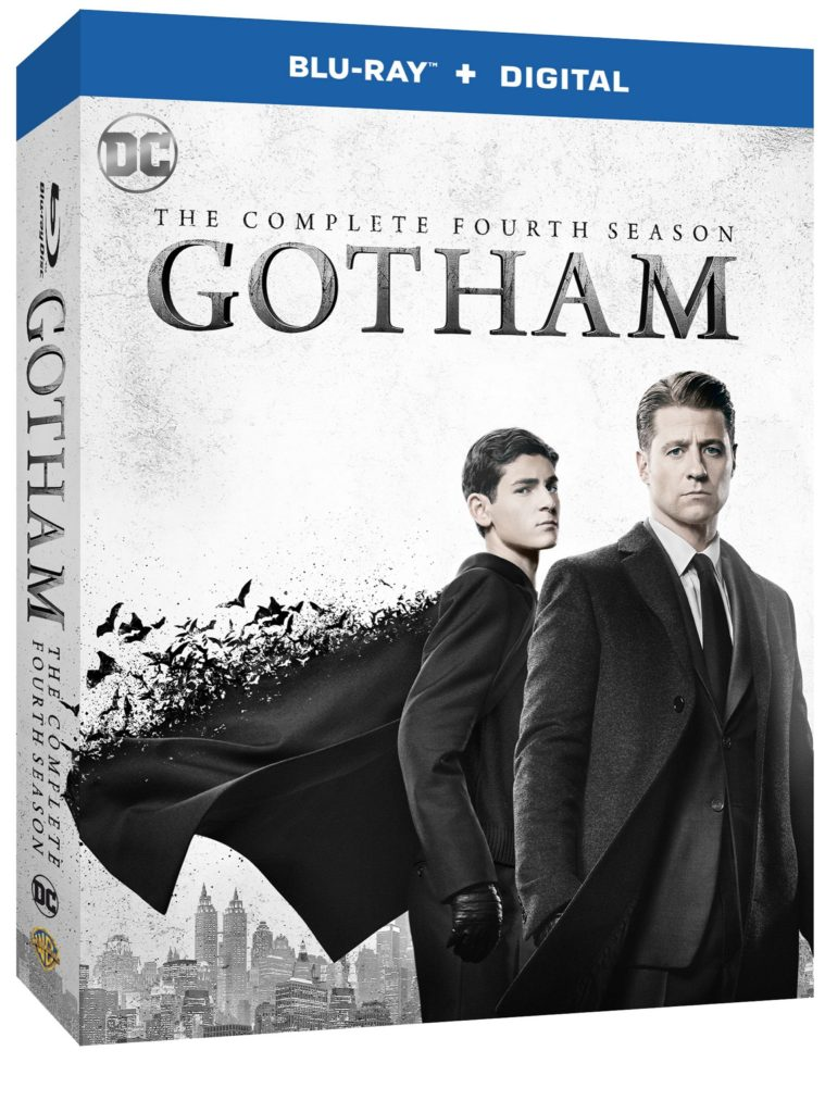 Gotham Season 4 Blu-ray and DVD release Warner Bros Home