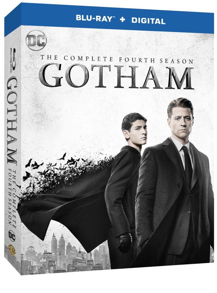 Gotham Season 4 Blu-ray and DVD release Warner Bros Home