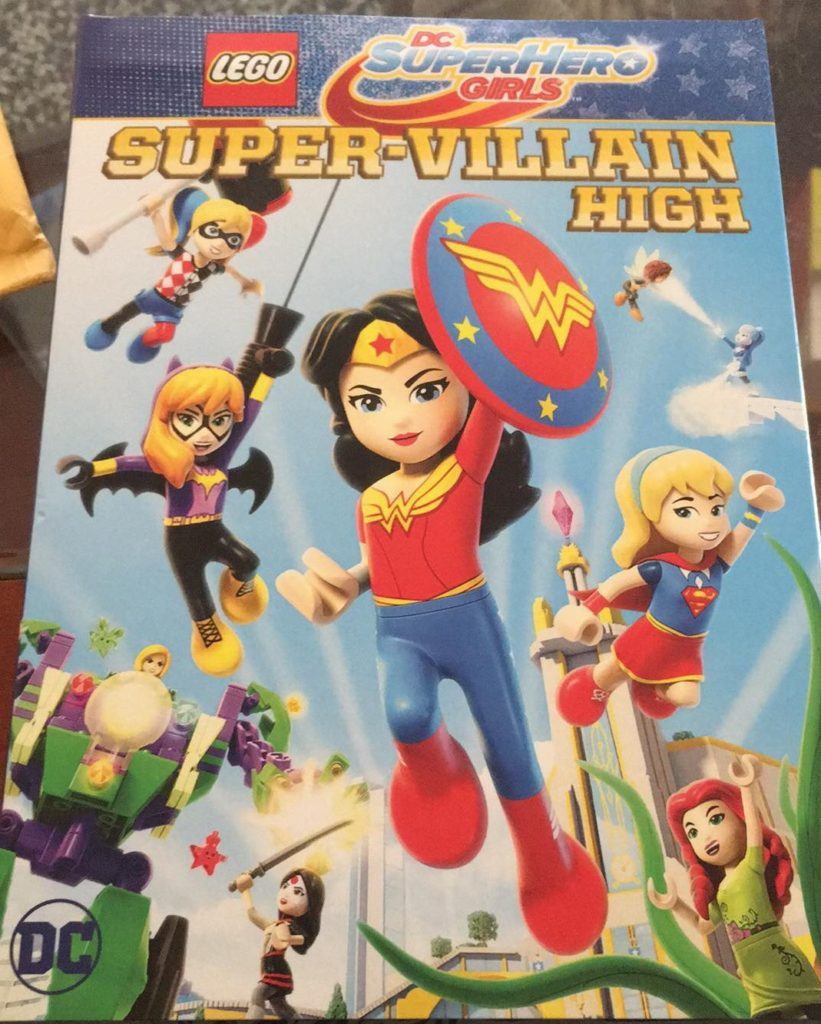 LEGO DC Super Hero Girls Super Villain High DVD review Digital Warner Bros