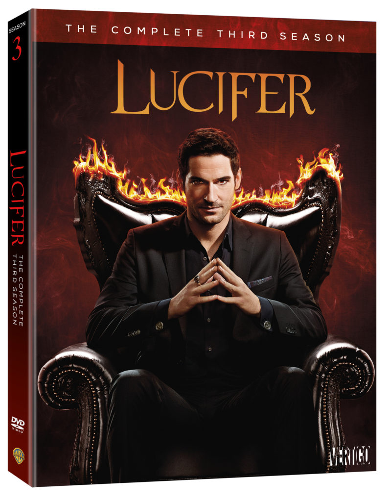 Lucifer season 3 DVD Warner Bros