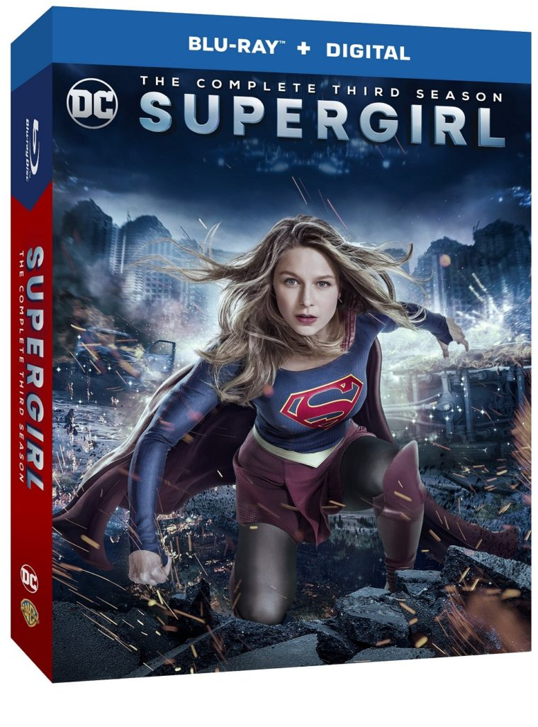 Supergirl season 3 Blu-ray dvd