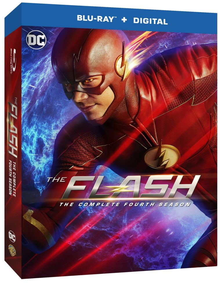 The Flash season four blu-ray dvd release warner bros