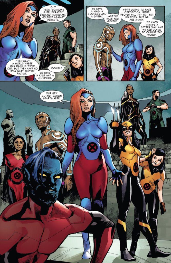 X-Men Red Issue 4 Jean Grey team