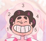 pink diamond steven hair