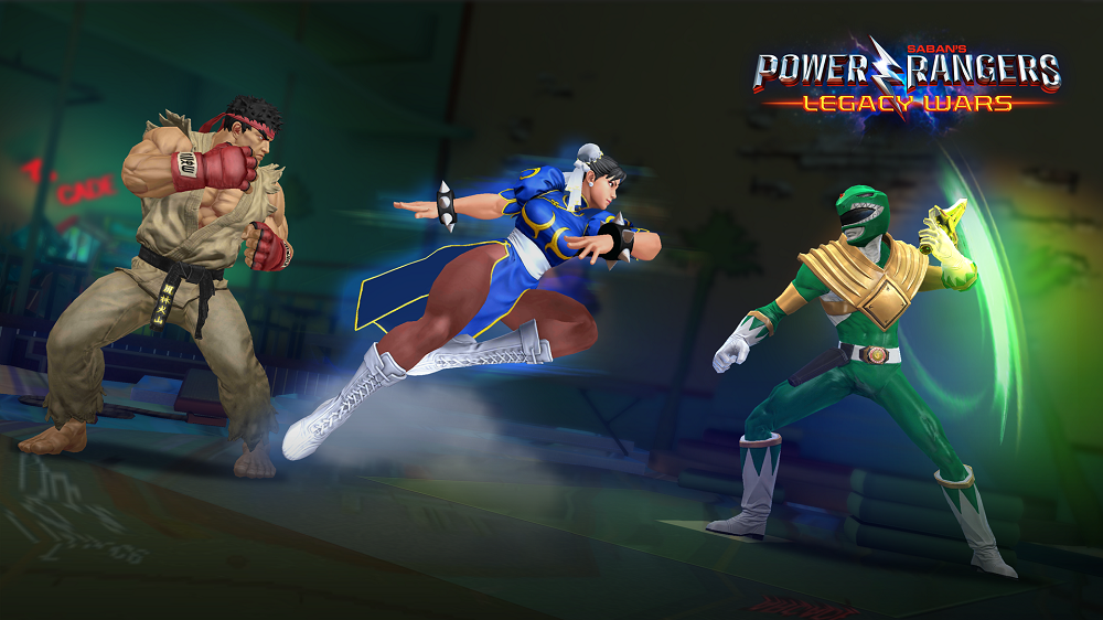 Power Rangers Legacy Wars Ryu Chun-li Green Ranger game