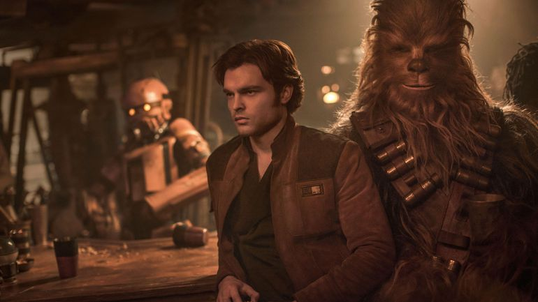 han solo chewbacca star wars