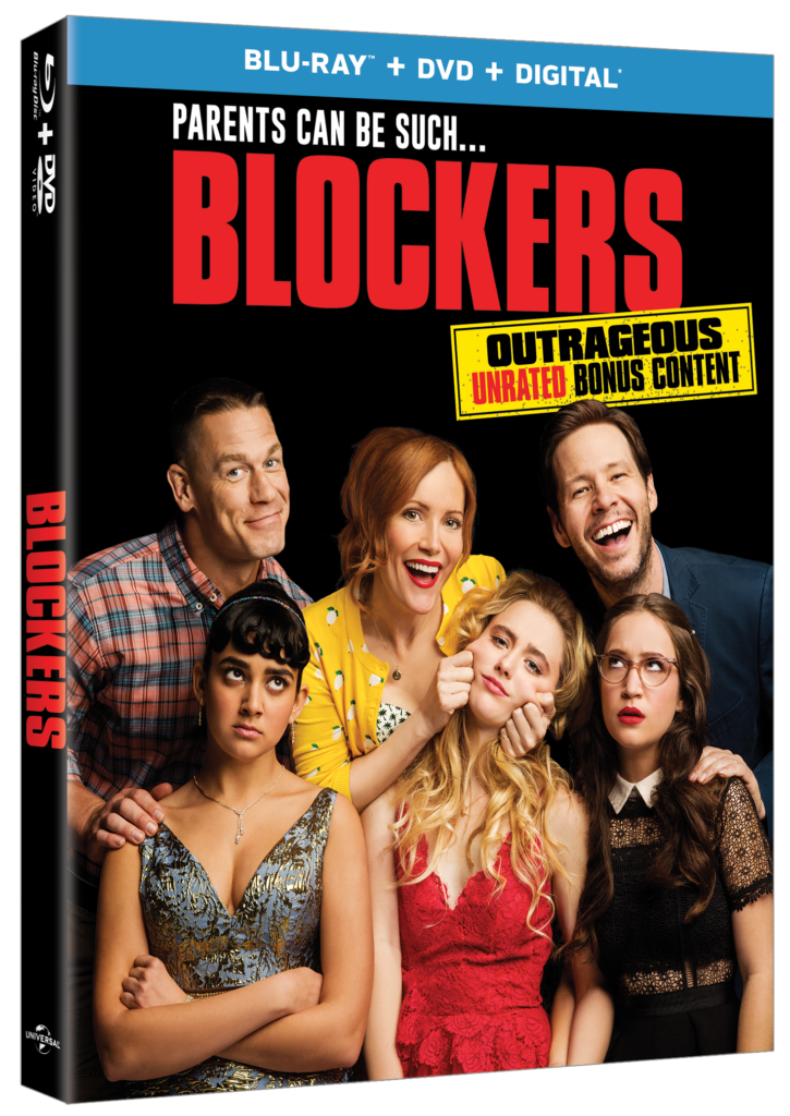 Blockers Universal Pictures Home Entertainment Blu-ray DVD Digital release