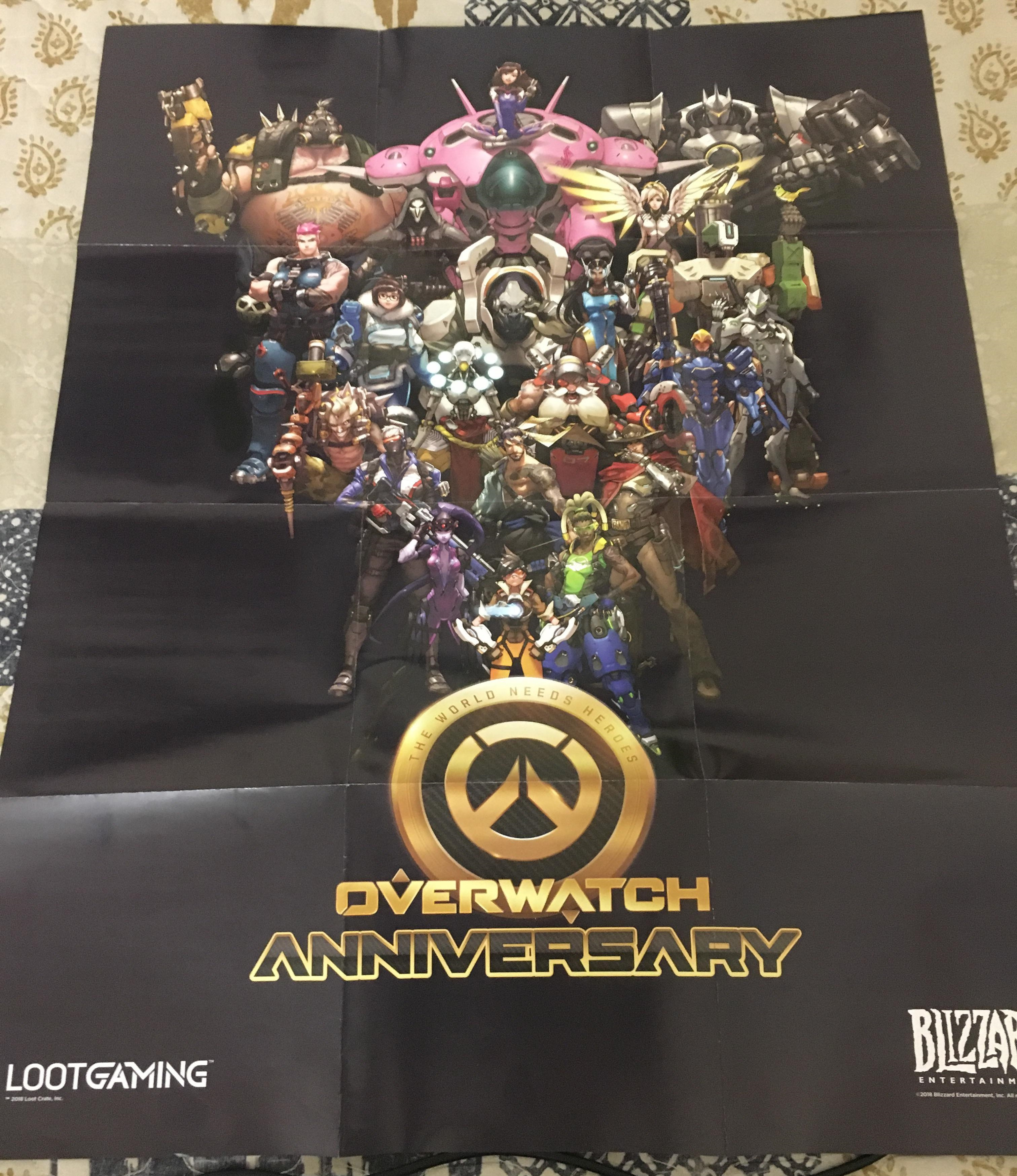 Overwatch Lootgaming poster Pew Pew