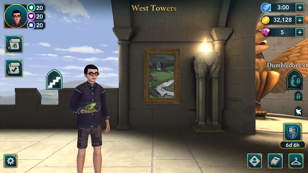 Harry Potter Hogwarts Mystery pets game