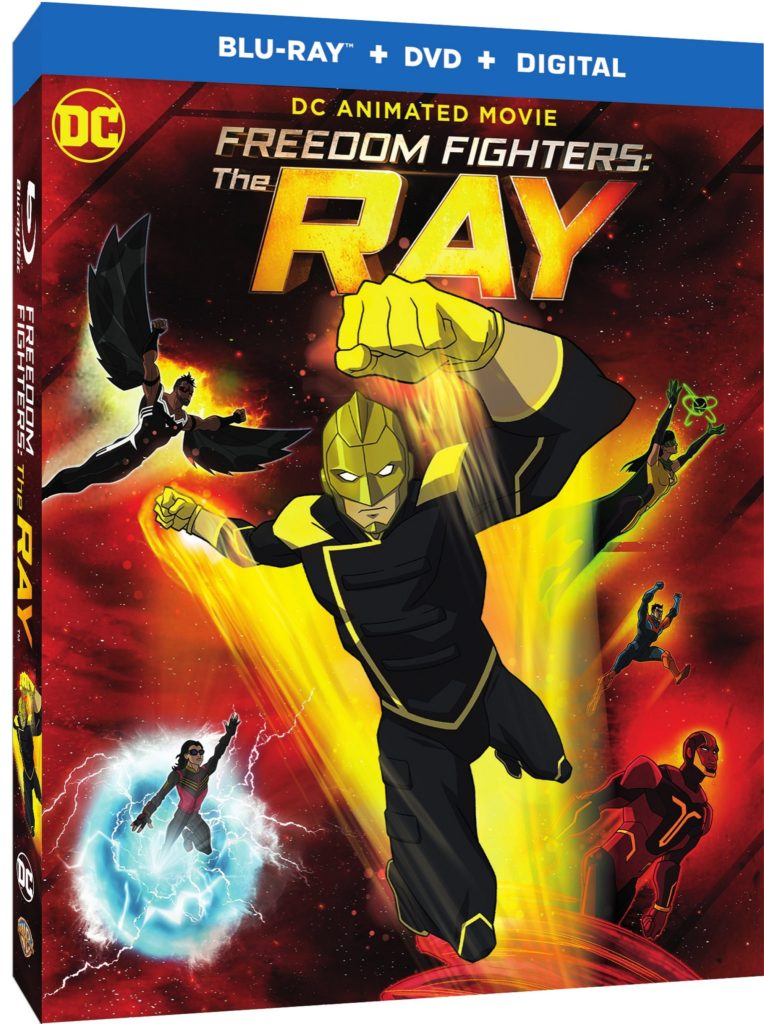 Freedom Fighters The Ray CW Seed Warner bros release The Ray Blu-ray Combo Pack