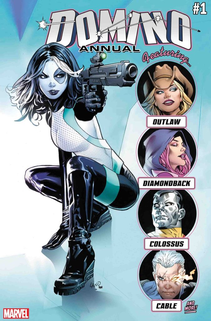 Domino Annual Issue 1 Gail Simone Marvel