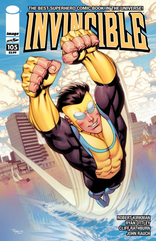 Invincible Comic Book Cover Robert Kirkman Image Comic