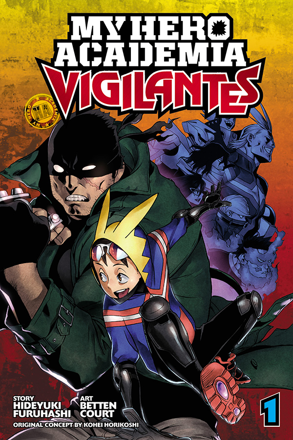 My Hero Academia Vigilantes volume 1