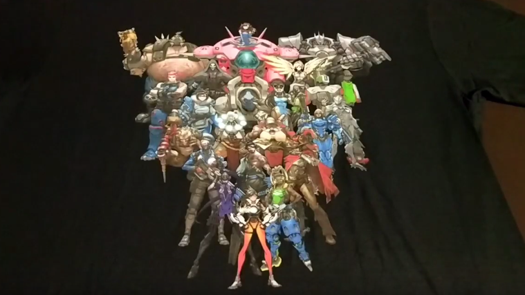 Overwatch t-shirt Lootgaming Pew Pew