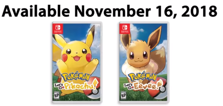 Pikachu Pokemon Let's Go Pikachu Eevee Nintendo Switch
