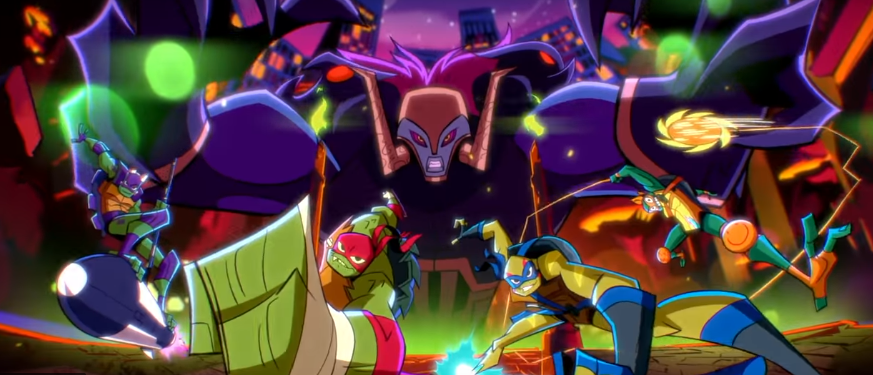 Rise of the Teenage Mutant Ninja Turtles SDCC 2018 Nickelodeon