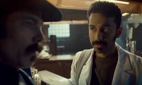 Wynonna Earp season 3 trailer Jeremy's mustache