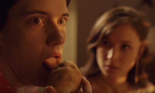 Wynonna Earp season 3 trailer potato licking