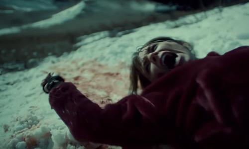 Wynonna Earp season 3 trailer Waverly being dragged through the snow
