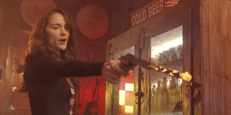 Wynonna Earp season 3 trailer Wynonna and her gun